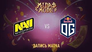 Natus Vincere vs OG, Midas Mode, game 1 [Jam]