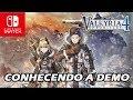 Valkyria Chronicles 4 Conhecendo A Demo trial Nintendo