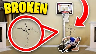 We did 2 on 2 basketball on our 7ft hoop indoor Ft Los, TTg, CashNasty Links down below! ○ Cash ...