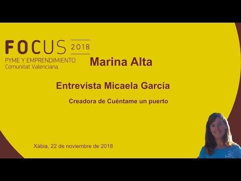 Entrevista Micaela García, de Cuéntame un puerto, en #FocusPyme Marina Alta[;;;][;;;]