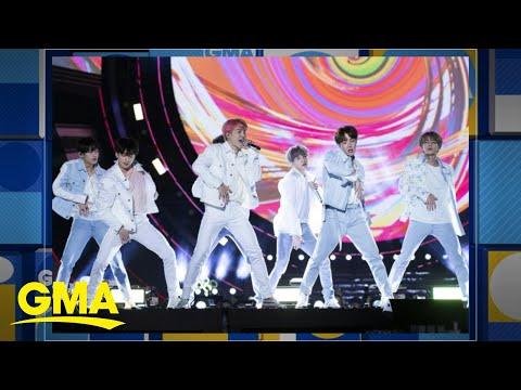 BTS drops new song 'Dream Glow'  GMA
