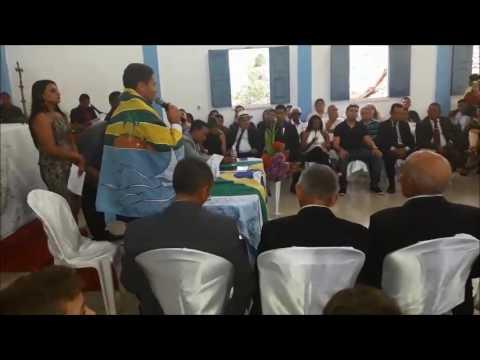 Cerimônia de posse do prefeito, vice-prefeito e vereadores de Lago Açu - 2008