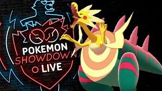 Enter DRACOZOLT! Pokemon Sword and Shield! Dracozolt Pokemon Showdown Battle Live! by PokeaimMD