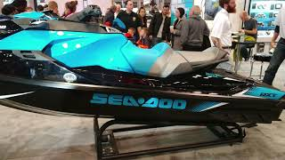 9. 2018 SEA DOO RXT 230 PERSONAL WATERCRAFT @ NY BOAT TRADE SHOW