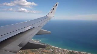 Reus Spain  city pictures gallery : [HD] ✈ RYANAIR ✈ Boeing 737-8AS(WL) ✈ Landing Barcelona Reus Airport ✈ LERS ✈ 29/09/2013