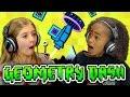 KIDS PLAY GEOMETRY DASH (Kids React: Gaming)