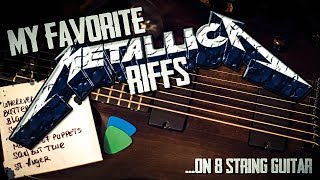 New video! My favorite Metallica riffs played  on 8 String guitar...and yes i really like St. Anger! Subscribe: https://www.youtube.com/user/checkthedistMore Guitar Videos: https://www.youtube.com/playlist?list=PLtbOE74vdLPbi40x0xpnPq6cLie_3NpqtMy Music: https://www.youtube.com/playlist?list=PLtbOE74vdLPaU6KgojBZmUl7bouiagXJi