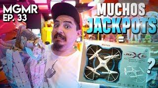 Video Muchos Jackpots = a DRONE? - MiniGames en el Mundo Real Ep. 33 MP3, 3GP, MP4, WEBM, AVI, FLV Mei 2019