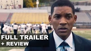 Concussion 2015 Official Trailer + Trailer Review - Will Smith : Beyond The Trailer
