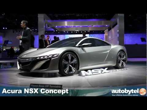 Acura NSX Concept at the 2012 NAIAS