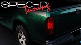 SPECDTUNING INSTALLATION VIDEO: 1997-2003 FORD F150 LED TAIL LIGHTS