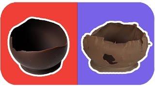 Balon kullanarak çikolata kasesi yapmak üzere yola çıktık. Ancak maalesef arzu ettiğimiz sonucu alamadık. Videoda nasıl yapıldığını adım adım gösteriyoruz. B...