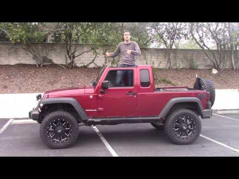 Jeep wrangler pickup снимок