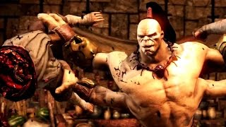 Mortal Kombat X Official Goro Trailer (2015) - MKX Game HD