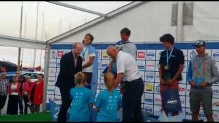 יואב עומר אלוף העולם לנוער עד גיל 19.באליפות העולם לנוער 2015 בגלשני  RSX  (דגם אולימפי) בגדניה, פולין