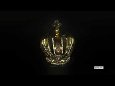 Takúto krásnu korunu darovala cisárovná Eleonóra trnavskému rádu