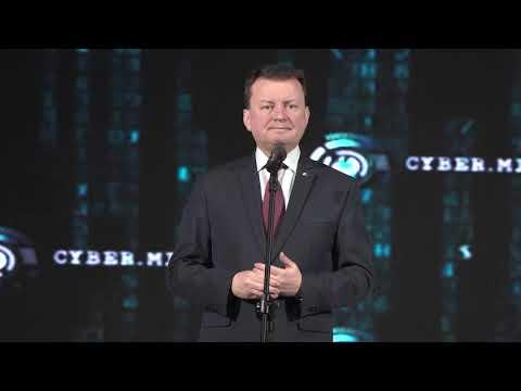 cyber.mil.pl - wystąpienie ministra Mariusza ...