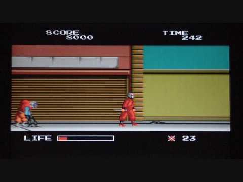The Ninja Warriors PC Engine