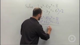 Solving a System of Nonlinear Equations by Elimination