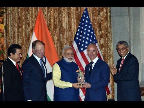 PM Modi at the 41st Annual Leadership Summit of USIBC in Washington DC, USA