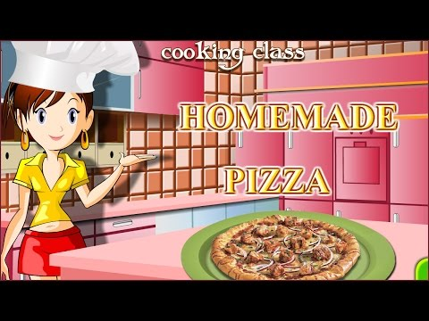 Sara's Cooking Class - Homemade Pizza