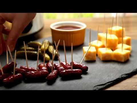 Appetizer Recipes – How to Make Slow Cooker Cocktail Smokies