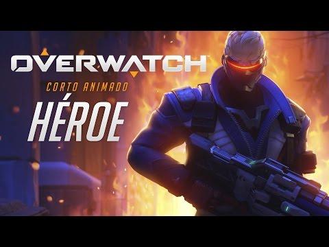 Corto animado de Overwatch: «Héroe» (ES)