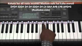 Video Pyar Hua Ikrar Hua (Piano Tutorials) - Shree 420 download in MP3, 3GP, MP4, WEBM, AVI, FLV January 2017