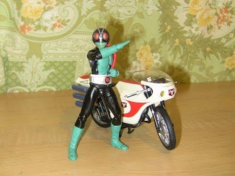 S.H.Figuarts Masked Rider Old 1 (Kamen Rider Kyu Ichigo) and Cyclone Review