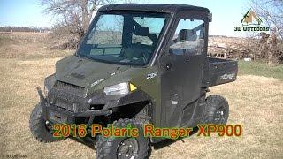 3. 2016 Polaris Ranger XP900