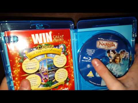 The Chronicles of Narnia Trilogy Bluray Unboxing
