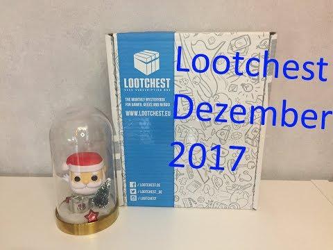 Lootchest plus | Dezember 2017 | unboxing (видео)