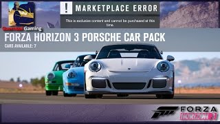 Easter is almost here, look what the bunny brought : Porsche Car Pack is out ! 7 really cool cars for us to drive in Forza Horizon 3. Unfortunately it's alre...