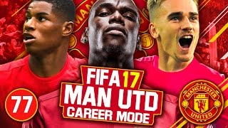 FIFA 17 Career Mode: Manchester United #77 - PLAYER SOLD FOR £130 MILLION!!! 🤑💸💰✪ SUBSCRIBE FOR DAILY FIFA 17 CAREER MODE VIDEOS! ✪---------------------------------------------------------------------------------------Welcome to my FIFA 17 Career Mode with Manchester United!This Career Mode series in FIFA 17 will be focusing on taking Manchester United back to the top as the best team in England, also in Europe achieving Champions League success.This Manchester United team has a mix of class players with the likes of Zlatan Ibrahimovic, Paul Pogba and David De Gea. Then the high potential young players in Eric Bailly, Marcus Rashford and Anthony Martial. With the assist of these talents I will look to make a new history with Manchester United in this FIFA 17 Career Mode series!═══════════ ✪ FIFA 17 Playlists ✪ ═══════════FIFA 17 Manchester United Career Mode  Playlist - https://www.youtube.com/playlist?list=PLQARbeRpn0ehvux9RVDle8PGdxku1IJ3SFIFA 17 Portsmouth RTG Career Mode  Playlist - https://www.youtube.com/playlist?list=PLQARbeRpn0ej6XwJO_xDZsR1hAEKQRElhFIFA 17 Career Mode Growth Tests  Playlist - https://www.youtube.com/playlist?list=PLQARbeRpn0ejyVw53MdQcoBZ07GwpMRHx---------------------------------------------------------------------------------------More FIFA 17 Career Mode videos on my channel:FIFA 17 Career Mode Best High Potential Young Players - https://www.youtube.com/watch?v=9NTdI-pKlw4FIFA 17 Career Mode Best 16/17 Year Old High Potential Players - https://www.youtube.com/watch?v=y-pvsUsogZc---------------------------------------------------------------------------------------Thumbnail made by - http://www.youtube.com/WOLFE3Y ---------------------------------------------------------------------------------------✪ Contact Info ✪Twitter - @FootyManagerTVBusiness Email - footymanagertv@gmail.com