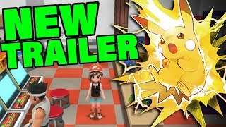 POKEMON LETS GO LEAKS WERE TRUE! NEW Pokemon Let's Go Trailer! by Verlisify
