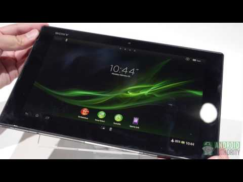 Sony Xperia Tablet Z – First Look and Hands On