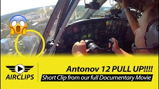 Video SUPER LOW Antonov 12 Downtown Approach waking up people, LOTS of MUSCLE INPUTS!!!  [AirClips] MP3, 3GP, MP4, WEBM, AVI, FLV Juli 2019