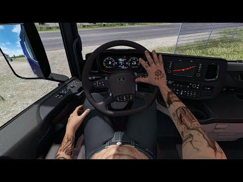 Animated Hands Mod For All Trucks 1.39
