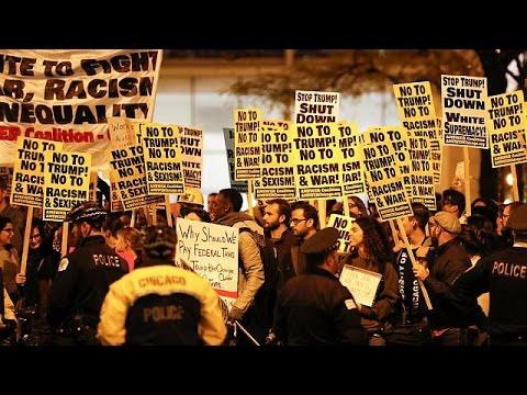 ΗΠΑ: Διαδηλώσεις κατά του Τραμπ σε πολλές πόλεις