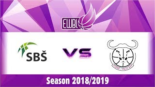 SBS Ostrava vs PINKK Pecsi 424 – EWBL 2018/19