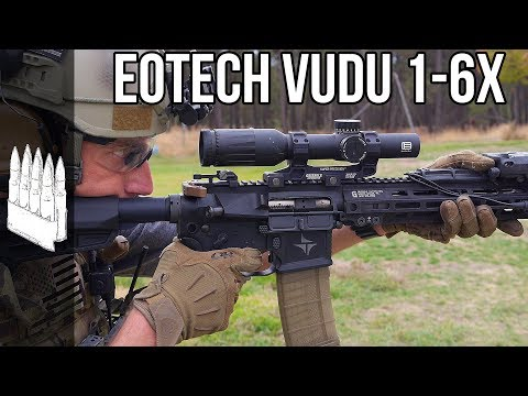 Eotech Vudu 1-6x Optic Review (also Compared To Vortex 1-6x)