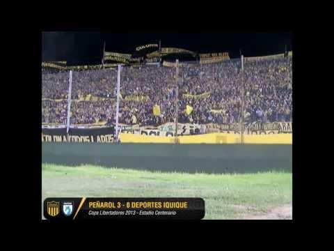 La Hinchada de Peñarol vs Iquique - Barra Amsterdam - Peñarol