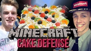 Milan&Enzo - MILAN STOPT MET YOUTUBE?!? - Cake Defense #7