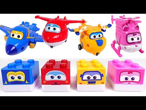 Get a superstar Super Wings block stamp! Big fan Pororo, Tayo, Robocarpoli! - DuDuPopTOY
