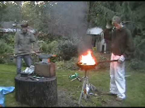 Beginning Bladesmithing/ Forging A Machete 2 Of 2