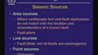 Lecture - 32 Earthquake Hazard Assessment