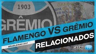 Confira os relacionados do Tricolor para a partida contra o Flamengo, válida pela 13ª rodada do Campeonato Brasileiro 2017! → Inscreva-se no canal e faça par...
