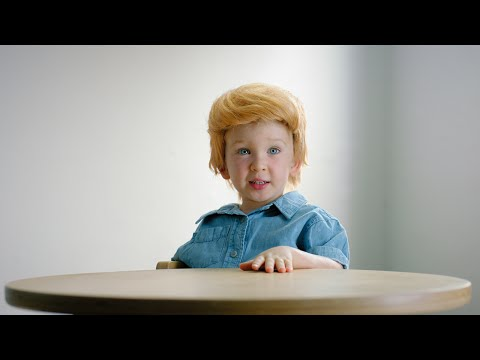 Watch  Kids dressed up with orange wigs make fun of Donald Trump in NZ  commercial 1b5942a6e