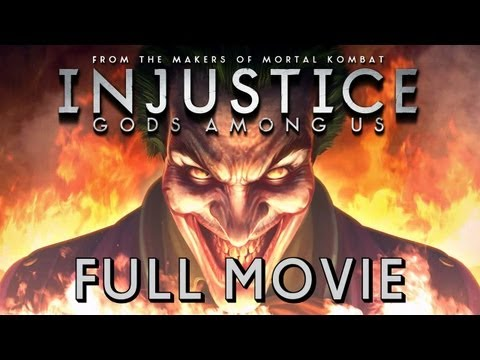 INJUSTICE: GODS AMONG US | FULL MOVIE (ALL CUTSCENES)