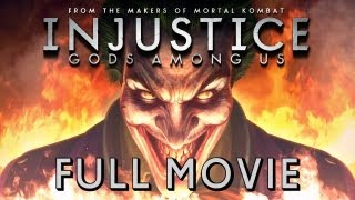 Injustice: Gods Among Us - FULL MOVIE (2013) All Cutscenes TRUE-HD QUALITY